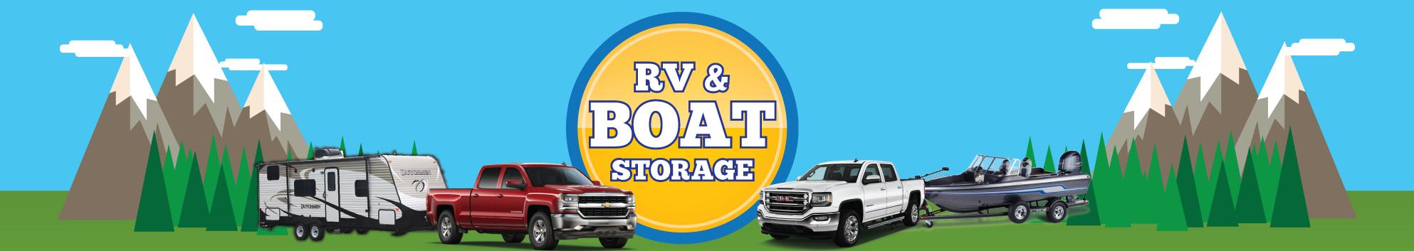 RV Boat Storage