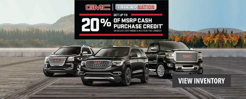 October GMC Offers